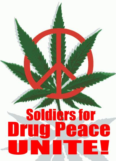Soldiers for Drug Peace, Unite!