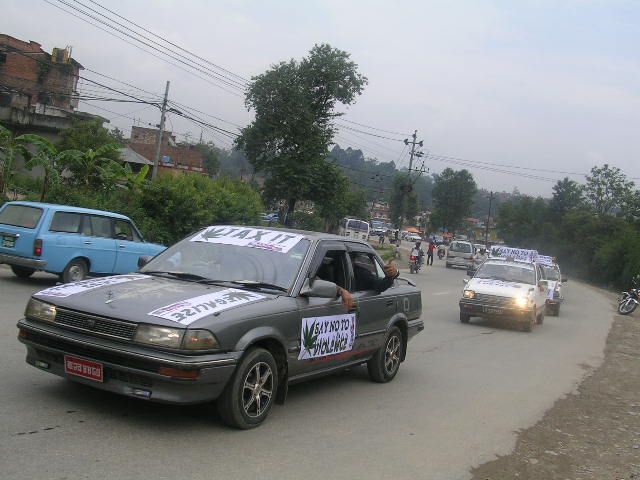 World Drug Day, on 26th June, 09 in Nepal