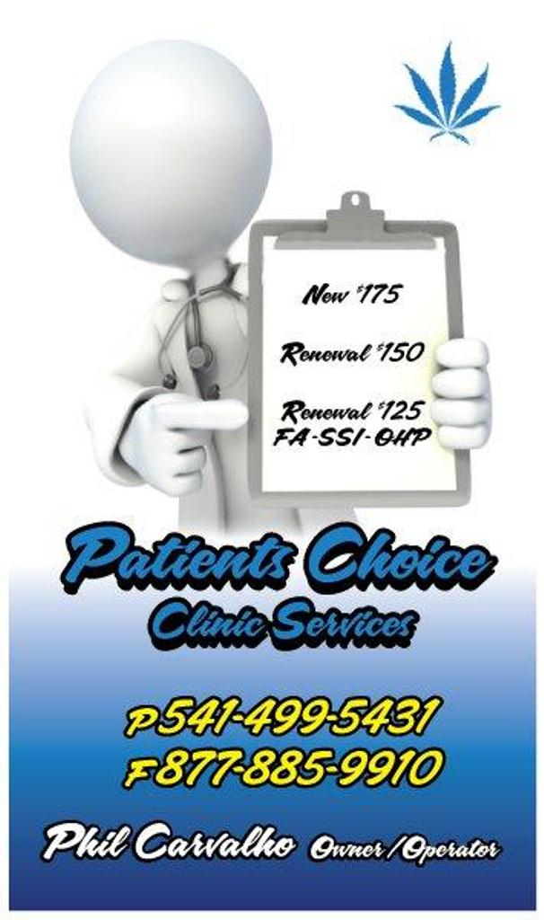 Patients Choice Clinic Services | 332 W. 6th St., Medford Oregon 97504 ...