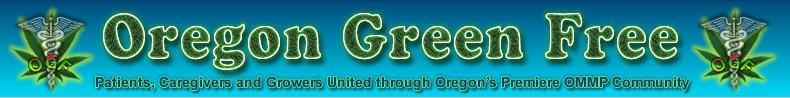 Oregon Medical Marijuana Resource - Oregon Green Free (OGF)