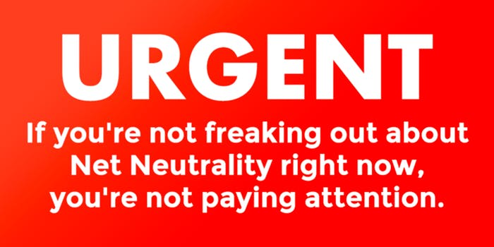 Take ACTION! The FCC will end Net Neutrality unless millions act to save it.